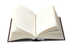 öppen bok arkivbild