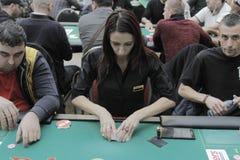 Öppen festival för Winmasters poker Arkivbild