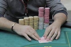 Öppen festival för Winmasters poker Fotografering för Bildbyråer