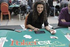 Öppen festival för Winmasters poker Arkivfoto