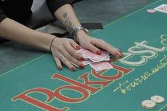 Öppen festival för Winmasters poker Royaltyfri Fotografi