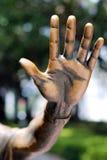 öppen hand Royaltyfri Foto