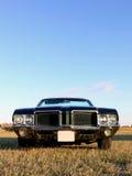öppen klassisk green för amerikansk bil Arkivfoton