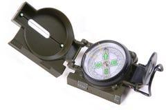 öppen kompass Fotografering för Bildbyråer