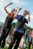 öppen luftfestivalmusik Royaltyfria Bilder