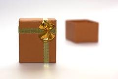 öppen packe för gåva Arkivbild
