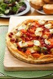 Öppen pie för Meat Arkivbilder