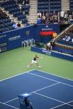 öppen s tennis u för gilles muller Fotografering för Bildbyråer