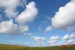 öppen sky wide arkivfoton