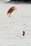 öppen snowkite för dillon Arkivfoton