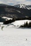 öppen snowkite för dillon Royaltyfri Fotografi