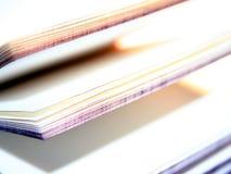 öppen souvenir för bok Arkivfoton