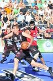öppen streetball tallinn för älva 2011 Arkivbild
