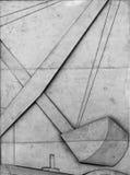 öppen submission för tät kranillustration till vektorn arkivfoton