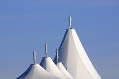 öppen takstadion för luft arkivfoton