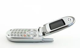 öppen telefon för cellclamshell Royaltyfria Bilder