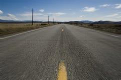 öppen väg för blurrörelse arkivfoton