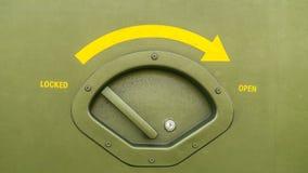 Öppet eller låst fotografering för bildbyråer