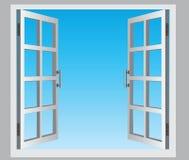 Öppet fönster Royaltyfri Foto
