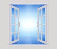 Öppet fönster Arkivfoton