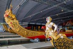 Öppet museum för thailändsk kunglig pråm Royaltyfria Foton