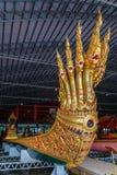 Öppet museum för thailändsk kunglig pråm Arkivbilder