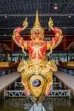 Öppet museum för thailändsk kunglig pråm Arkivbild