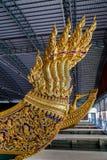 Öppet museum för thailändsk kunglig pråm Arkivfoto