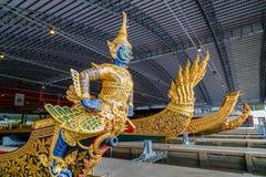Öppet museum för thailändsk kunglig pråm Royaltyfria Bilder