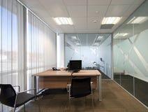 öppet plan för kontor Arkivfoto