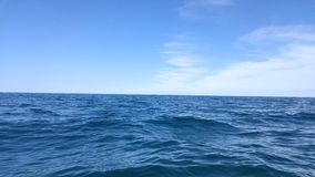 öppet vatten Arkivfoto
