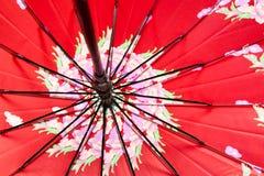 Öppna av ett paraply fotografering för bildbyråer
