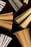 Öppna böcker, bästa sikt Royaltyfri Foto