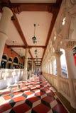 Öppna balkongen på det Venetian semesterorthotellet och kasinot, Las Vegas, Nev Royaltyfri Bild