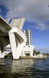 Öppna Basculebron i fyrtio Lauderdale fotografering för bildbyråer