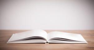 Öppna boken royaltyfria bilder