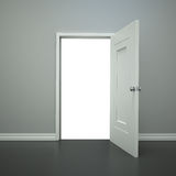 Öppna dörröppningen Arkivbild