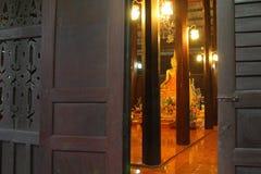 Öppna dörren till Dharmaen royaltyfria foton
