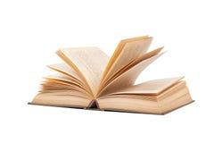 Öppna den gamla boken Royaltyfri Bild