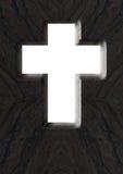 Öppna korset Arkivfoto