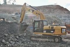 Öppna Pit Mining arkivfoton