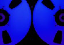 Öppna rullljudsignalregistreringsapparaten Royaltyfria Bilder
