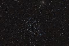 Öppna stjärnaklungan arkivfoton