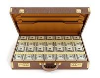 Öppna tappningportföljen mycket av pengar vektor illustrationer