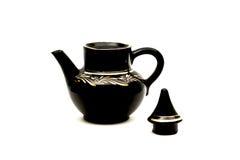 öppna teapod Fotografering för Bildbyråer