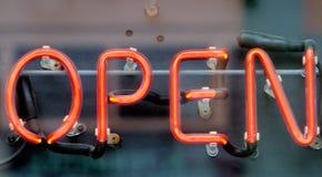 öppna tecknet fotografering för bildbyråer