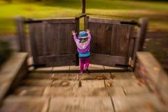 Öppna träportarna fotografering för bildbyråer