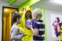 Öppna utbildningsperioden på KIWIN för sportklubban i den Kirov staden i 2 Arkivfoto