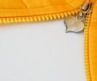 öppna zipperen Royaltyfri Bild