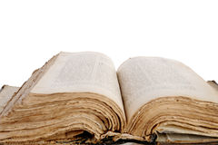 öppnad bibel Royaltyfri Fotografi